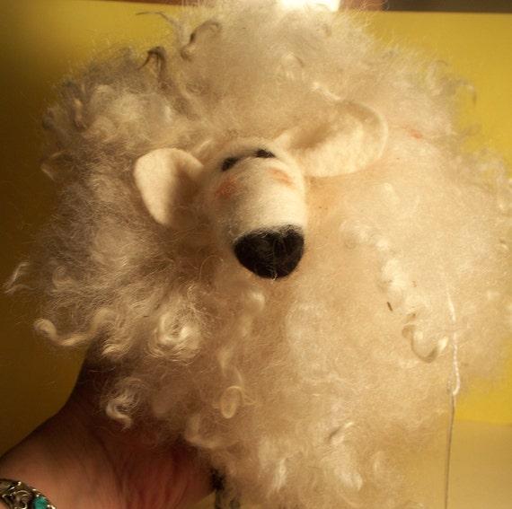 Wilson the Woolie Needle Felted Wool Sheep