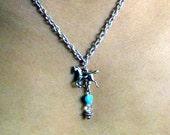 Silver Stallion Necklace