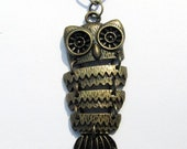 Observant Owl Necklace