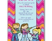 15 Laser Tag Time Invitations Girls for Kids Birthday Party