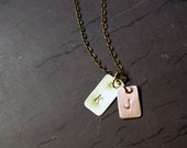 Tiny Tags - Brass and Copper