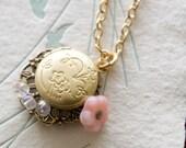 Petite Locket Necklace