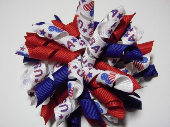 Red, White And Blue Large Patriotic USA Mickey Mouse Korker