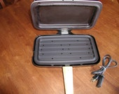 Norelco Burger Cooker / Panini Press  Vintage Indoor Grill