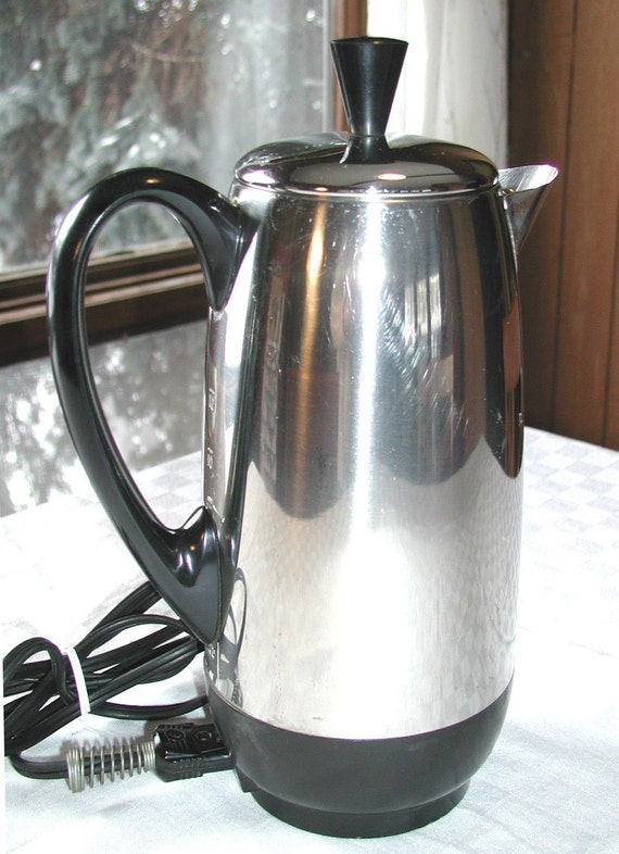 Farberware Automatic Coffee Maker Instructions : Farberware Superfast 12 Cup Percolator / by SunsetSideVintage