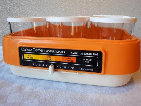 Vintage Culture Center Yogurt Maker by Hamilton Beach Scovill  726