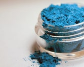 Mineral Eyeshadow - Electric Blue - 5 gram Sifter Jar - Mum Mum's Crafts