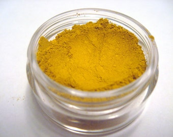 Curry - Mineral Eye Color - Velvet Collection - 5 gram sifter jar