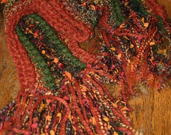Autumn Leaves Scarf Fall Fashion Scarves Harvest