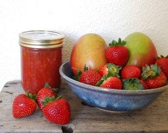 Strawberry Mango Jam 16oz Hostess Gift Farmers Market Food wedding favors