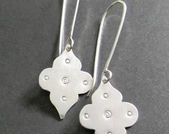 tekke sterling silver earrings