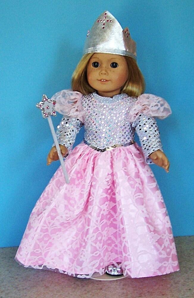 American Girl Doll Clothes Pink Princess Or Glinda The Good
