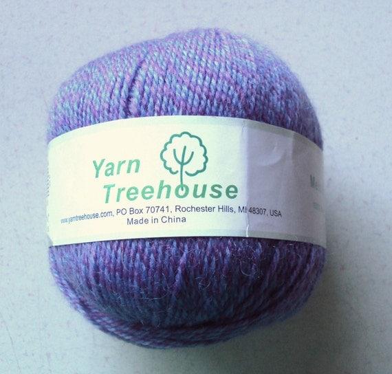 Yarn Treehouse Purple Melody Wool Yarn FREE SHIPPING