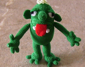 Buy Bonnie's  Crochet Red Tongue Monster Doll  cyicrochet