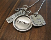 Mommy Necklace Heaven Sent Sterling Silver