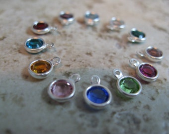 Add a 6mm Swarovski Crystal Drop