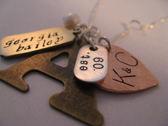 Love   Letters   Mixed Metal Collection