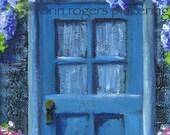 Cottage Art - Doorway The Green Thumb 8x10 Print