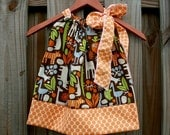 Alexander Henry 2D ZOO...........Pillowcase Dress