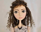 Reserved for Tracey: Custom Art Doll