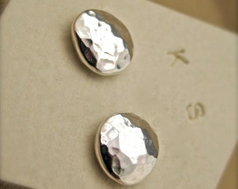 Fine Silver Stud Earrings
