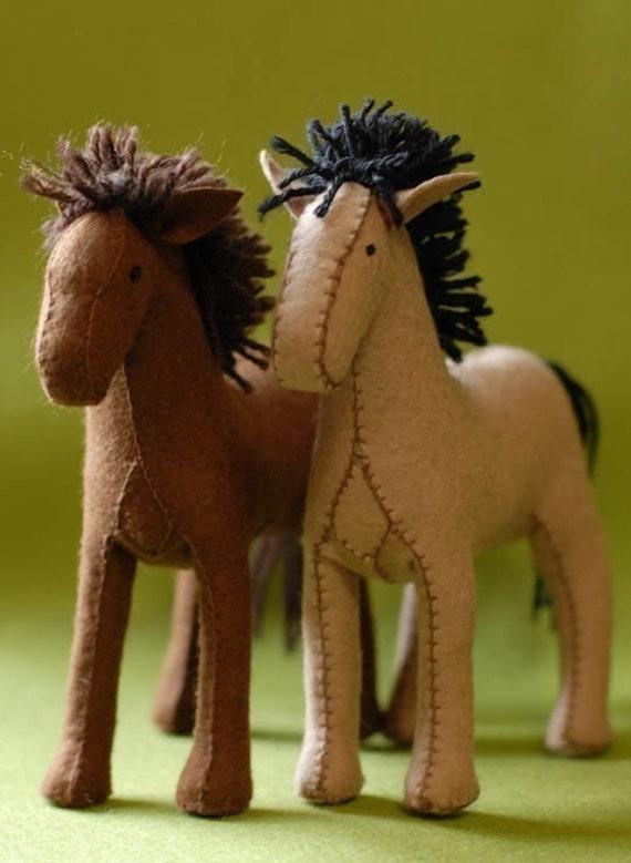 Felt Horse Pattern PDF