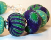 Purgreen - Polymer Clay Bracelet