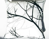 Branches 2 throw pillow