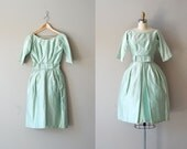 60s dress / 1960s party dress / Fresh Mint dress