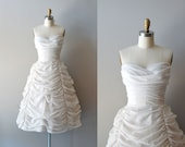 1950s wedding dress / 50s dress wedding / Cloudveil gown