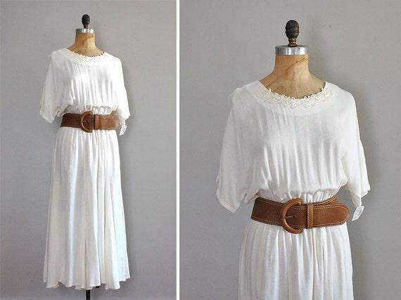 vintage FLEETWOOD belted rayon dress