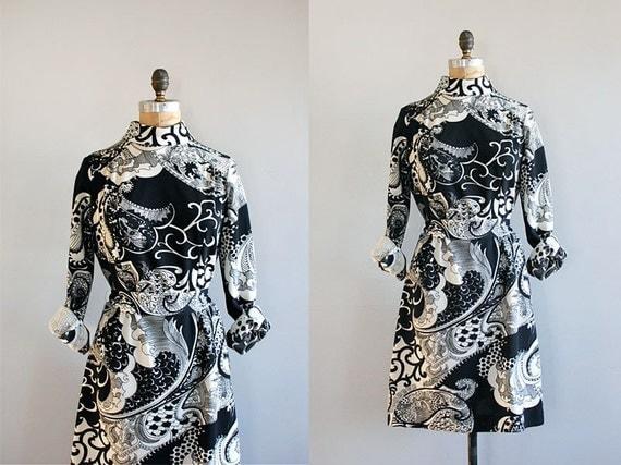 vintage 1970s Paisley Park dress