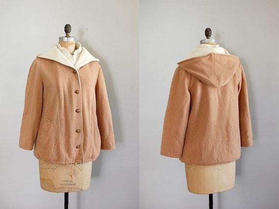 vintage 1970s coat / Mackintosh Wool vestcoat
