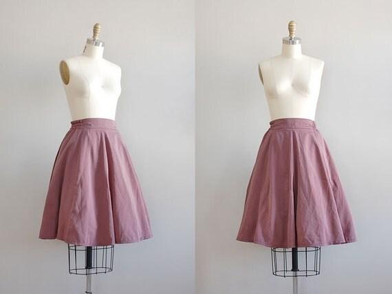 vintage Misty Flounce mauve skirt