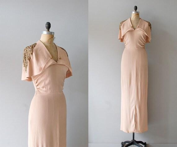 r e s e r v e d...1930s dress / 30s dress / Temple of Luxor dress