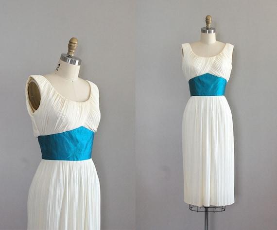 60s dress / grecian dress / Aegaen Goddess dress