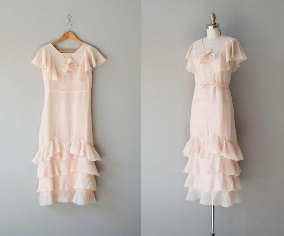 1920s dress / chiffon 20s dress / Beyond Pretty