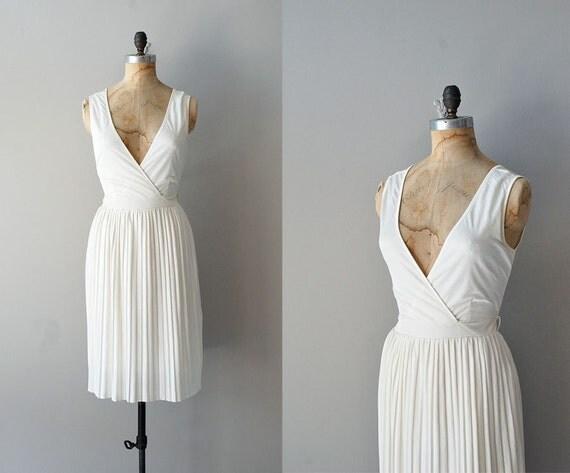 1970s jersey dress / grecian dress / goddess dress