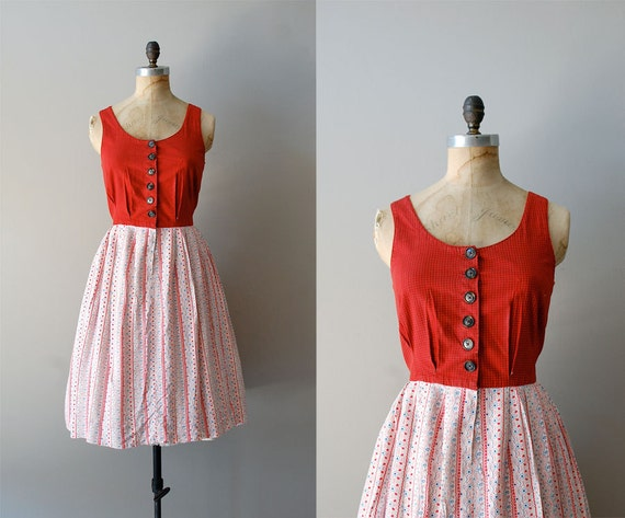 50s dress / 1950s dress / Six Bells dress