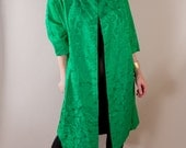 Kelly Green Brocade Jacket