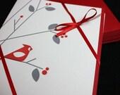 Cardinal Card Set - 25% OFF HOLIDAY SALE!