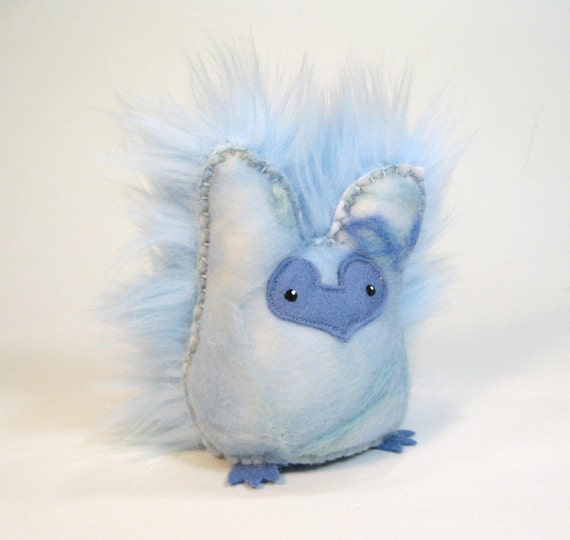 Owlet Plush - Ice Owl Mama (no. 13)