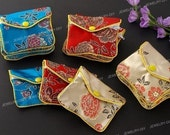 12pcs Jewellery Jewelry Silk Purse Pouch Gift Bag Bags PX59