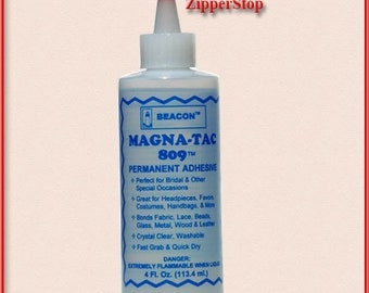Magna-Tac Glue 809 / Permanent Adhesive / 4 oz