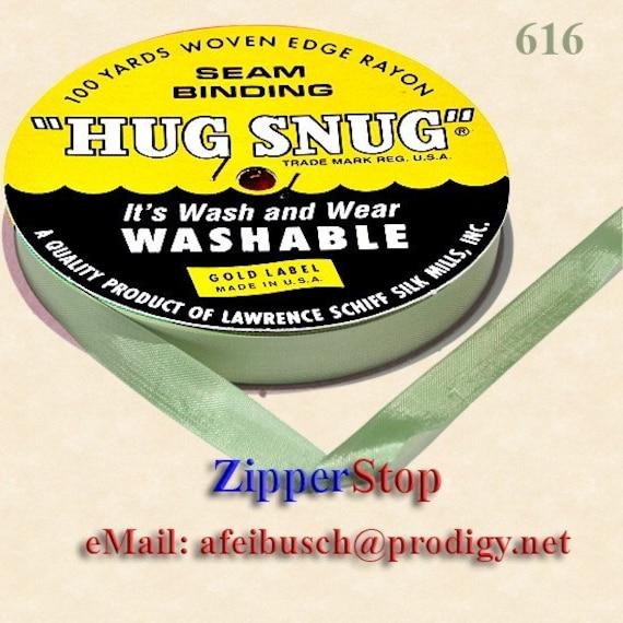 Hug Snug Seam Binding 100-yds Roll 1/2inch Wide Hug By