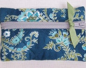 PIF - Quilted Grab N Go Clasp with Key Ring - Hoffman's Gypsy Princess
