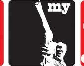 Dirty Harry Vinyl Wall Art