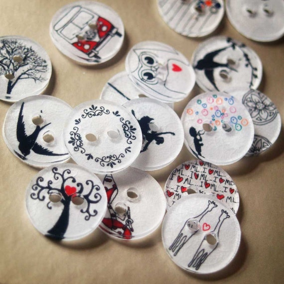 DIY CRAFT Make your own BUTTONS by SpareButton on Etsy