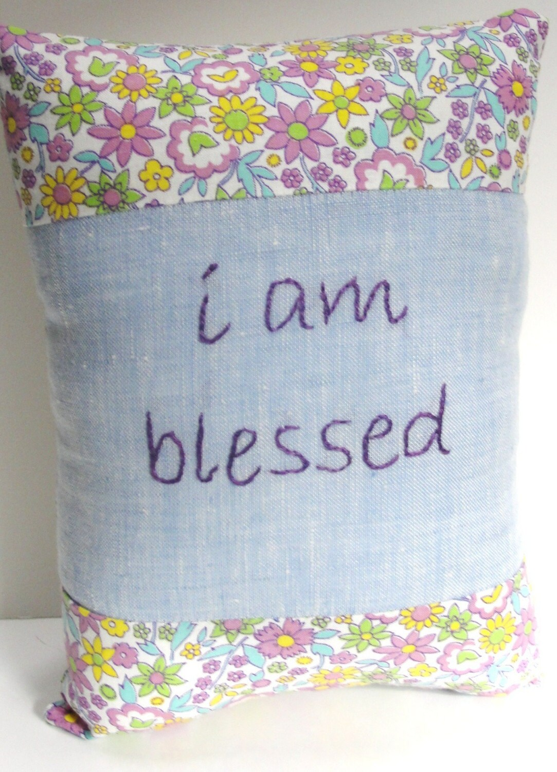 I Am Blessed hand-embroidere...