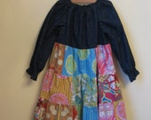 Soul Blossom Peasant Dress Size 8  MOVING SALE